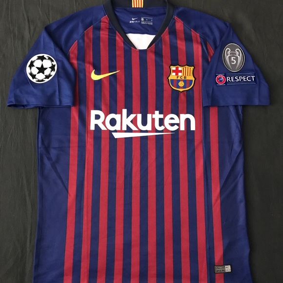 sneakers for cheap a644d 19f11 FC Barcelona Jersey Stadium Version Messi #10 (XL) NWT